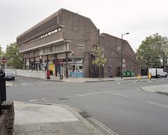 Camden, 2017 ([Photom]) Tags: 120 6x7 architecture england kodakportra400 london mamiya7ii newtopographics places uk brutalism concrete film mediumformat modernism