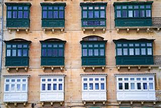 Green & white, Valletta, Malta