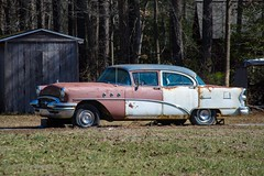 Buick Special, Eastern Shore Delaware (adamkmyers) Tags: buick buickspecial easternshore delaware delmarva onblocks 1955