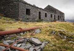 Compressor House (ShrubMonkey (Julian Heritage)) Tags: australialevel dinorwic dinorwig abandoned machines quarry derelict decay dereliction slate rust building structure wales northwales snowdonia forsaken desolate metal iron pipe gritty industrial dilapidated deserted ruined broken discarded compressorhouse pipes