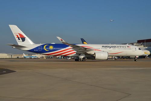 9M-MAC at Heathrow
