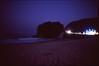 (✞bens▲n) Tags: pentax lx velvia 100 at200 fa 31mm f18 limited film analogue slide dark night japan shizuoka beach ocean