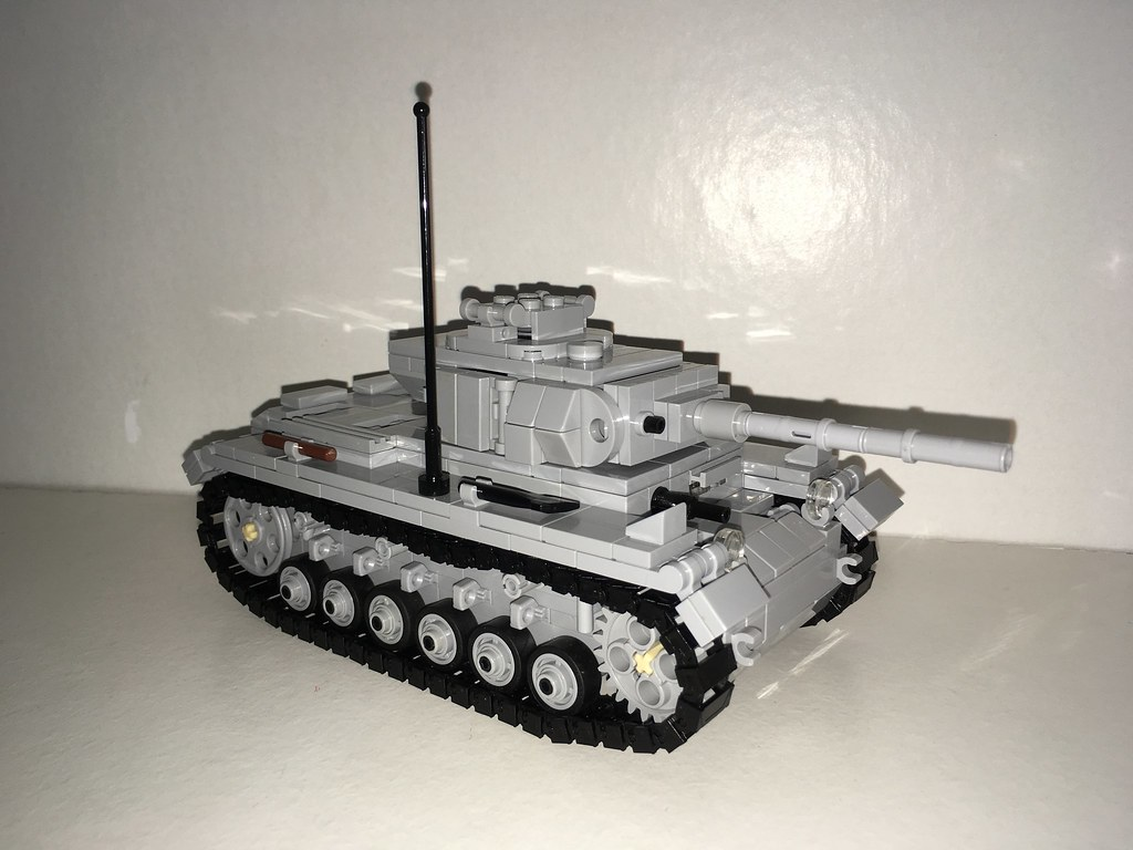 fd5ef17286707 Panzer III Ausf L (Wehrabricks) Tags: lego wwii panzer iii ausf l brickmania