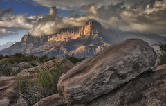 El Capitan and Low Clouds (Mark P Betts) Tags: elcapitan guadalupemountainsnationalpark