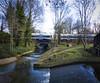 River Pool Linear Park, Catford (London Less Travelled) Tags: uk unitedkingdom england britain london lewisham catford bellingham park river train rail railway bridge urban