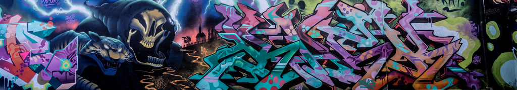 STREET ART AT THE TIVOLI CAR PARK IN DUBLIN [LAST CHANCE BEFORE THE SITE IS REDEVELOPED]-135636