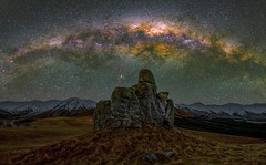 P A S T - T R A I L S (elganjones1) Tags: milkyway new zealand southern skies stargazing castle hill cantebury elgan jones ngc sony a7s samyang 24mm