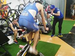Richi Clavería triatlón Indoor team clavería triatlón World 2