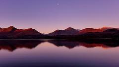 Derwentwater (mandysp8) Tags: sunrise moonlight lakedistrict uk keswick nationalpark landscape