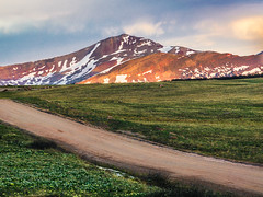 A Summer Sunset (PlataYOro) Tags: ifttt 500px trees landscape forest sunset mountains vacation beautiful snow alone countryside mountain outdoors colorado scenery rural scene adventure scenic slope peak range country road explore snowcapped horizon over land village rolling