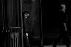 Walkn' Away !!!!!!!!! (imagejoe) Tags: vegas nevada street strip black white photography photos shadows reflections people tamron nikon