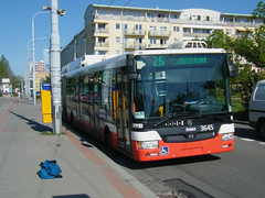 Brno trolleybus No. 3645 (johnzebedee) Tags: trolleybus transport publictransport vehicle skoda brno czechrepublic johnzebedee skoda31tr