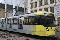 Manchester Metrolink 3023 (Mike McNiven) Tags: manchester metrolink tram victoria lrv bury altrincham shawandcrompton eastdidsbury rochdale