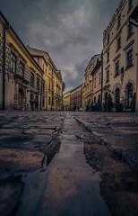 After the rain (Vagelis Pikoulas) Tags: krakow old town perspective travel tokina 1628mm landscape city cityscape canon 6d november autumn 2017 view poland europe