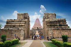 At Gangaikondacholapuram, Tamilnadu, India (Suresh V Raja) Tags: gangaikondacholapuram architecture chola sky clouds nikon suresh chennai tamilnadu india sureshcprog sureshphotography d5300 travel
