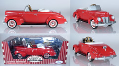 MUS-GBX-Ford-red (adrianz toyz) Tags: diecast toy model pedal car gearbox 1940 ford deluxe coupé