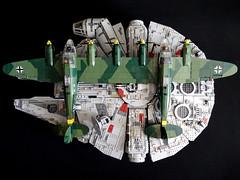 Cobi_Heinkel_He-111_Z-1_Zwilling_MOC_09 (El Caracho) Tags: cobi small army building blocks ww2 warplane plane bomber heinkel he111 zwilling moc
