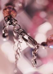 Fastener (haberlea) Tags: home macro macromondays fastener pink jewellery