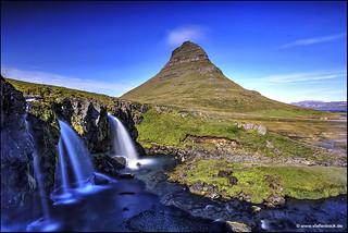 Kirkjufell Mountain and Kirkjufellsfoss