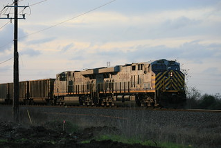 Citirail ES44AC's as DPUs on BNSF coal mty