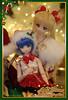 Usagi and Ami / Sailor Moon (frostyangel1985) Tags: usagi ami sailor moon сrystal sm serenity dd dds volks dollfie dream merry christmas happy new year