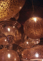 Lanterns (thecuriousdead) Tags: morocco aftrica souk marrakech november 35mm film canon colourprocess oldfilm negatives documentary