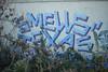Smells, Texas (NJphotograffer) Tags: graffiti graff pennsylvania pa philly philadelphia trackside rail railroad smells texas roller