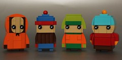 South Park Brickheadz (simplybrickingit) Tags: lego moc uk bricks blocks toys model fun south park cartoon characters brickheadz