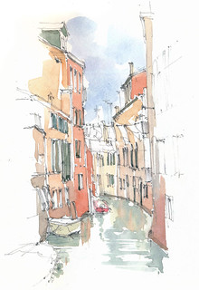 Venezia, Parrocchia de S. Martin, Ponte dei Scudi