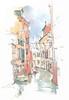 Venezia, Parrocchia de S. Martin, Ponte dei Scudi (Linda Vanysacker - Van den Mooter) Tags: venezia parrocchiadesmartin pontedeiscudi watercolor watercolour visiblytalented vanysacker vandenmooter tekening sketch schets potlood pencil lindavanysackervandenmooter lindavandenmooter drawing dessin croquis crayon art aquarelle aquarell aquarel akvarell acuarela acquerello venetië venice