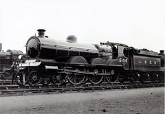 London & North Eastern Railway - LNER (ex-Great Central Railway) Class B18 4-6-0 steam locomotive Nr. 5196 (Beyer Peacock Locomotive Works, Manchester-Gorton 4542 / 1904) (HISTORICAL RAILWAY IMAGES) Tags: steam locomotive lner gcr bp manchester gorton beyerpeacock