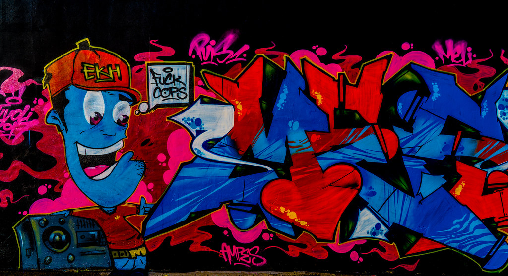 STREET ART AT THE TIVOLI CAR PARK IN DUBLIN [LAST CHANCE BEFORE THE SITE IS REDEVELOPED]-135653