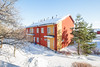 Mastokuvaus (c) Tony Halttunen (Tony Halttunen) Tags: sky blue tree house canon canonphoto realestate apartment city wideanglelens snow winter cold