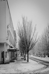 e-lias-1568 (e-lias hun) Tags: city karcag blackandwhite 35mm nikon d7000 winter cityscape snowing urban