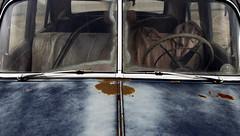 (Bill Baldridge) Tags: auto blue rust chrome