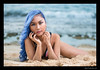 Jesslayin (madmarv00) Tags: d600 jess nikon beach girl hawaii jesslayin kylenishiokacom model mokuleia oahu ocean woman asian portrait bluehair