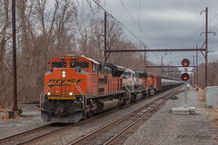 CSXT K139 @ Yardley, PA (Darryl Rule's Photography) Tags: 2018 bnsf buckscounty csx csxt clouds cloudy creamandgreen diesel diesels emd eastbound executive freight freightcar freighttrain freighttrains ge january k139 oil oiltrain oiltrains pa pennsylvania railroad railroads readinglines readingrailroad sd70ace sd70mac septa signal signals silverliner tankcar tankcartrain tankcars tankers traim trains winter yardley