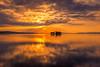sunset 1326 (junjiaoyama) Tags: japan sunset sky light cloud weather landscape orange contrast colour bright lake island water nature fall autumn reflection