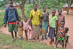Family in the DRC.