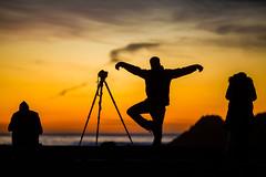 Shooting with Ivan (Thomas Hawk) Tags: america bayarea california ivanmakarov sfbayarea sanfrancisco sutrobaths usa unitedstates unitedstatesofamerica westcoast sunset us fav10 fav25 fav50 fav100