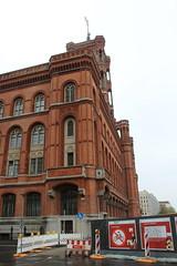 IMG_2137 (paquerettepétille) Tags: rathaus mairie berlin brique rouge tour télévision bâtiment