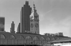 Ferry Building (delge) Tags: ferrybuilding sanfrancisco canon canon1n trix trx400 kodak kodaktrix kodaktrix400 bayarea 50mm 35mm