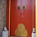 Red Hutong Door