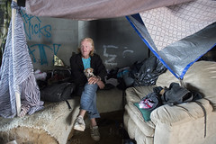 SAN PEDRO_DJA_0070 (CEO_Countywide_Communications) Tags: homelessness homeless male man pet dog tents encampment sd4 south bay