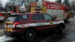 SO2 (Central Ohio Emergency Response) Tags: columbus ohio fire division safety officer chief ford explorer