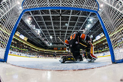 """Kansas City Mavericks vs. Cincinnati Cyclones, February 3, 2018, Silverstein Eye Centers Arena, Independence, Missouri.  Photo: © John Howe / Howe Creative Photography, all rights reserved 2018. • <a style=""""font-size:0.8em;"""" href=""""http://www.flickr.com/photos/134016632@N02/40119451821/"""" target=""""_blank"""">View on Flickr</a>"""