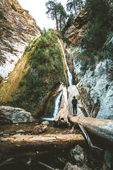 Limekiln Falls.  Big Sur, California (Todd Danger Farr) Tags: california limekiln waterfall nature explore water creek bigsur californiacoast trees logs hiking