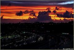 Sunset (Ricardo Kuehn) Tags: sunset clouds fire sky salvador bahia brasil brazil cityscape