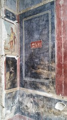 Pompeian details (uffagiainuso) Tags: priapus god wallfresco wallfilth wall paintings paint pompei pompeii pompeian details dettagli detalles olddetails affreschi arte heritage heritageworld heritagecity museum house ancientworld ancient ancienttown godoffertility pompeiano art artdetails pompeya houseofthevettii archeologico areaarcheologica ruins beniculturali