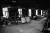 Barn Interior (lostinblue) Tags: savannah bamboo farm 35mm film kodak minolta scad 1992